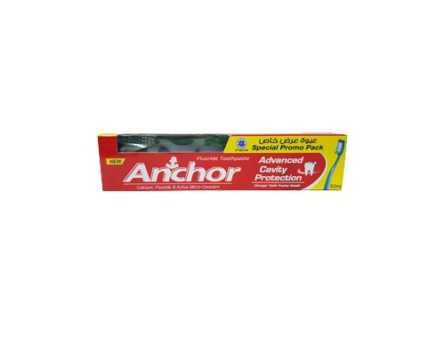 ANCHOR ADV CAVITY PROT 50ML W TOOTH BRUSH