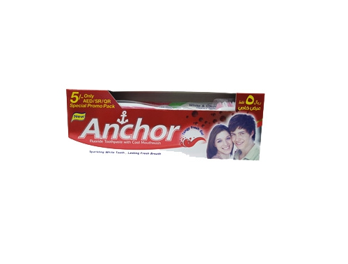 ANCHOR GEL TANGY FRESH 135GM WITH TOOTH BRUSH