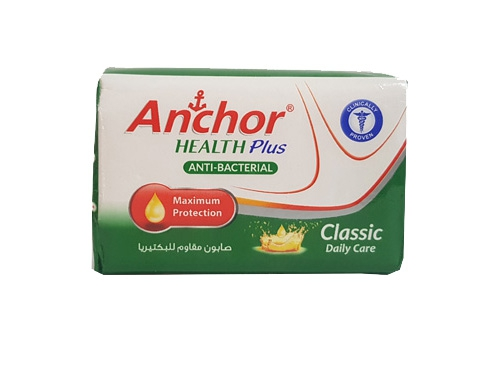 ANCHOR HEALTH PLUS-CLASSIC SOAP 120GM