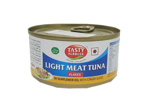 TN LIGHT MEAT TUNA FALKES IN SUN OIL GINGER 185GM