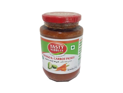 TN MANGO & CARROT PICKLE 400 GM